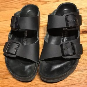 Birkenstock Shoes - Slipers Mules Clogs Flats Leather Straps Comfy Fit